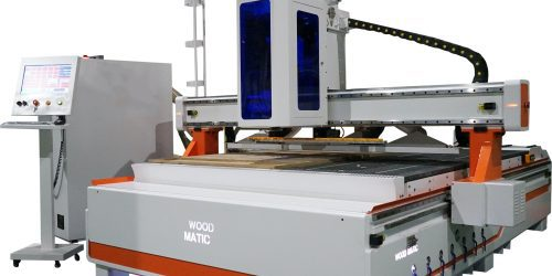 CNC WoodMatic WM 2128 ATC