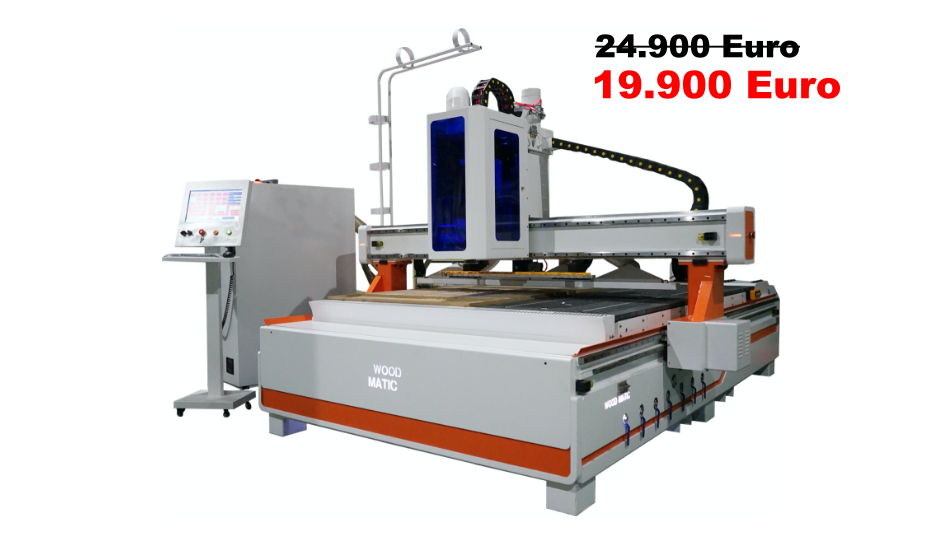 WoodMatic Black Friday CNC WD-2128