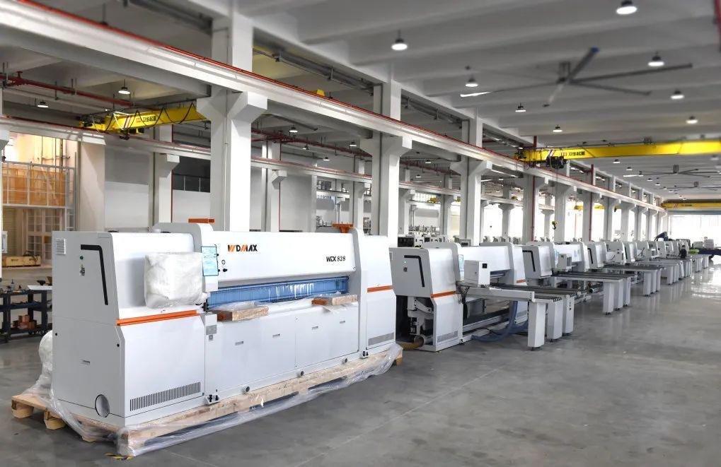 prima linie de productie a noii fabrici KDT